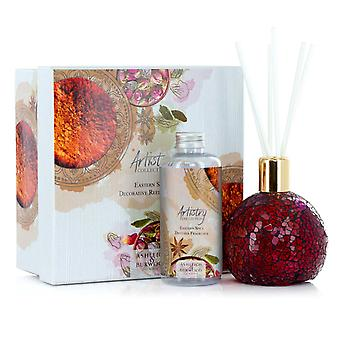 Artistry Collection Mosiac Decorative Diffuser Gift Sets Rose Bud & Eastern Spice