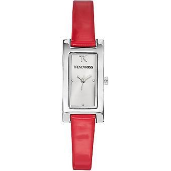 Trendy Kiss TC10030-08 - watch leather white woman