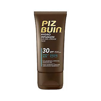 Creme solar facial Hidro Infusão Piz Buin (150 ml)/Spf 50