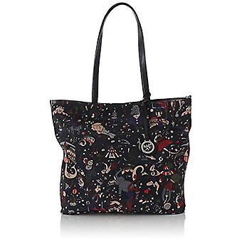 Piero Guidi Reversible Bag Tote Donna Nero (Liquorice) 34x32.5x16 cm (W x H x L)