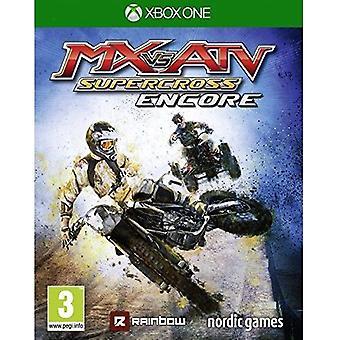 MX vs ATV Supercross Encore Xbox One Game