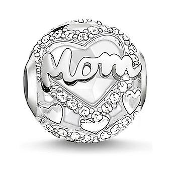 Woman's Glass Pearl Thomas Sabo K0160-625-14