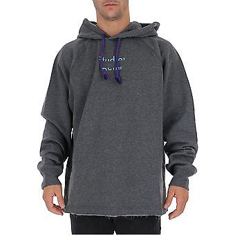 Acne Studios Bi0045aa21anthracite Men's Grey Cotton Sweatshirt