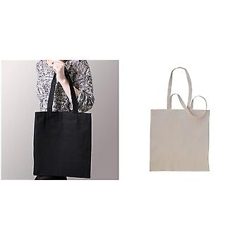 Absolute Apparel puuvilla Shopper Bag (pakkaus 2)