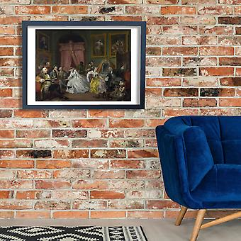 William Hogarth - Party Poster Print Giclee