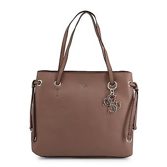 Guess Original Women Spring/Summer Shopping Bag - Brown Color 39387