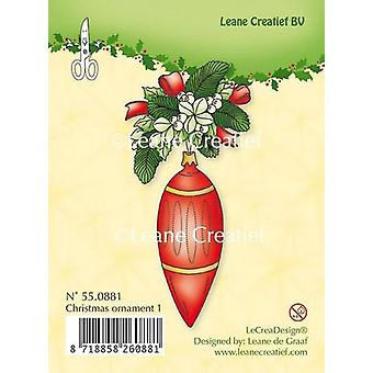 LeCrea - Clear stamp Christmas ornament 1 55.0881