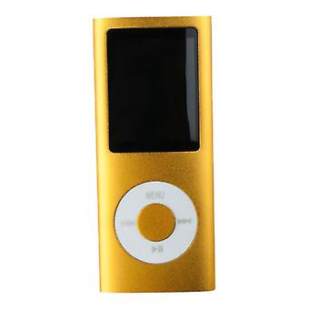 8GB Multimedia-Player - Gold