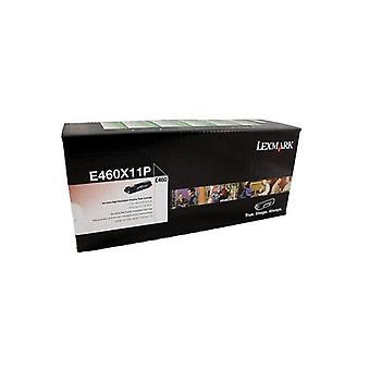 Lexmark E460X11P Black Toner Yield 15K Pages