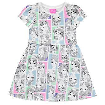 Character Kids Jersy Dress Girls Short Sleeve Midi Summer Dress Casual