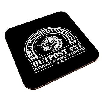 The Thing Outpost 31 Antarctica Coaster