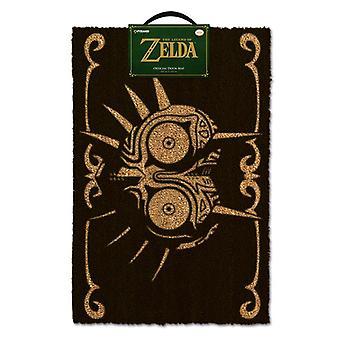 Zelda Majora's Maske sort dørmåtte