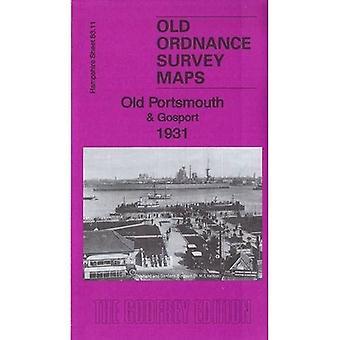 Gamle Portsmouth & Gosport 1931: Hampshire Sheet 83.11c (Old Ordnance Survey Maps of Hampshire)