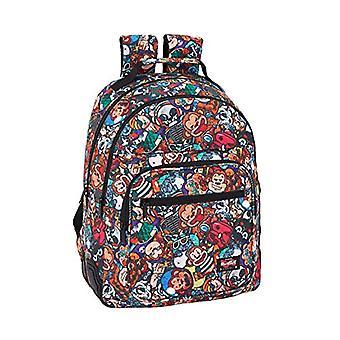 Blackfit8 - حقيبة ظهر المدرسة'القرد و apos; - 320 × 150 × 420 مم