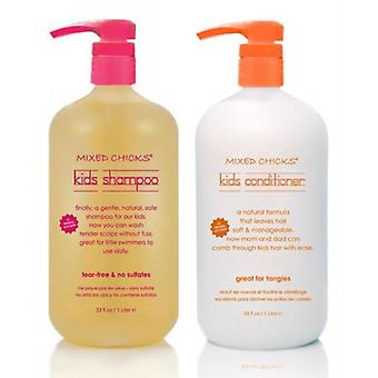 Mixed Chicks Kids Shampoo & Conditioner 1L