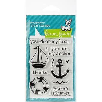 Lawn Fawn Clear Stamps - Float My Boat