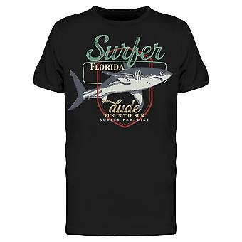 Fun In The Sun Florida Surfer Tee Men's -Image by Shutterstock