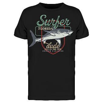 Fun In The Sun Florida Surfer Tee Men's -Kuva Shutterstock