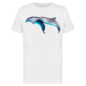 Casal de amigos golfinhos Tee Men's -Imagem por Shutterstock