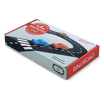 waytoplay ringroad driving track 12pcs for ages 3 and above
