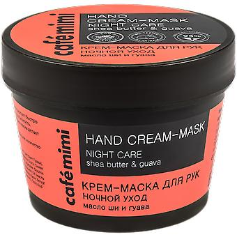 Cafe Mimi Night Care Hand Mask Cream 110 ml