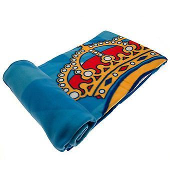 Real Madrid CF Crest Fleece Blanket
