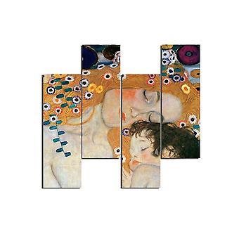Autores&apos Framework; Inspiração 166 Multicolorido em MDF, L19xP0.3xA50 cm (4 Peças)