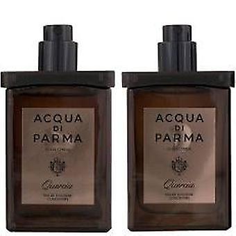 Acqua di Parma Colonia Quercia Gift Set 2 x 30ml EDC Travel Spray Refills