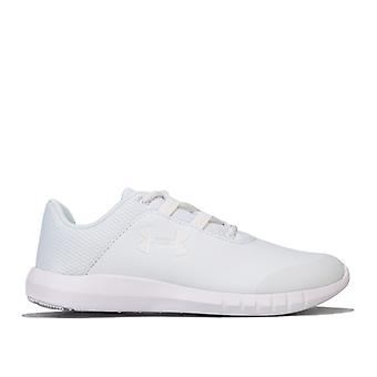 Boy's Under Armour Children Mojo Trainers in White