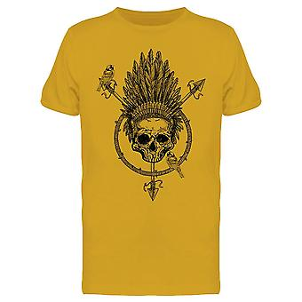 Tribal Skull. Tee Men's -Image by Shutterstock