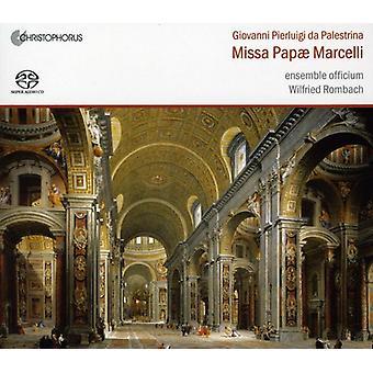 Giovanni Pierluigi Da Palestri - Palestrina: Missa Pap  Marcelli [SACD] USA import