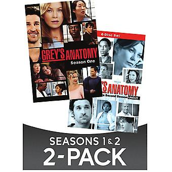 Greys Anatomy: Staffel 1 & Season 2 [DVD] USA importieren