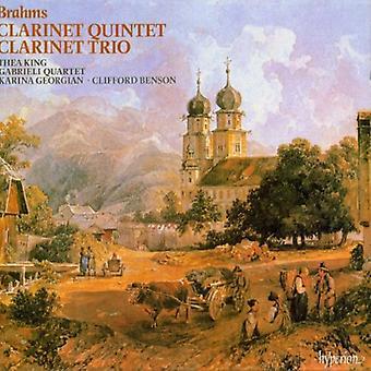J. Brahms - Brahms: Clarinet Quintet; Clarinet Trio [CD] USA import
