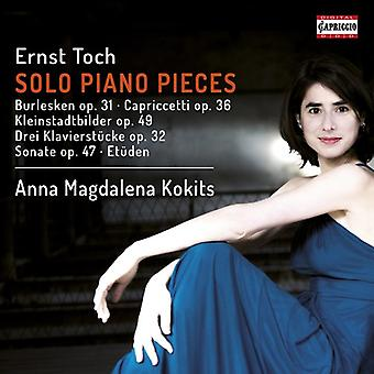 Toch / Kokits - Ernst Toch: Solo Piano Pieces [CD] USA import