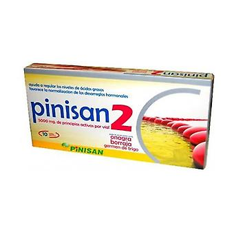 Pinisan 2 Evening Primrose and Borage 10 ampoules