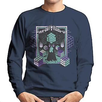 Rubik ' s far out & gemengd mannen ' s Sweatshirt