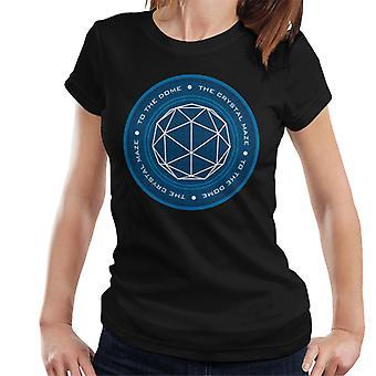 O crystal maze logo women's t-shirt