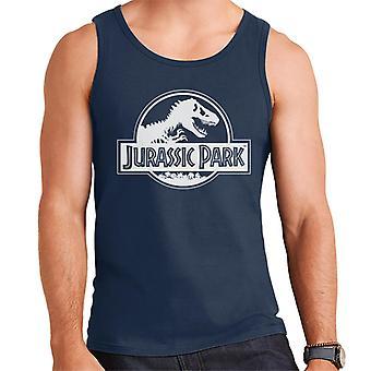 Jurassic Park Classic Black & White Logo Men's Vest