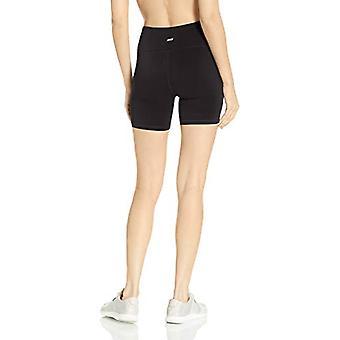 Essentials Women's Performance Mid-Length Active Short, Negro, X-Small