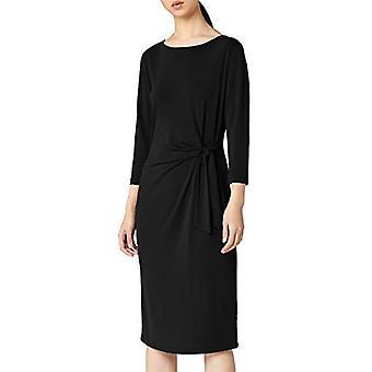 Meraki Women's Twist Midi Dress,  Black, EU XXXL (US 18)
