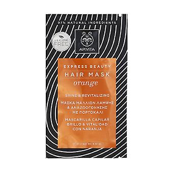 Gloss and Vitality Hair Mask With Orange and Honey 20 ml