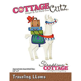 Scrapping Cottage Traveling Llama