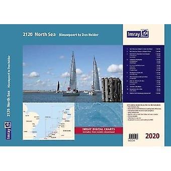 Imray 2120 North Sea  Nieuwpoort to Den Helder Chart Atlas 2020 by Imray