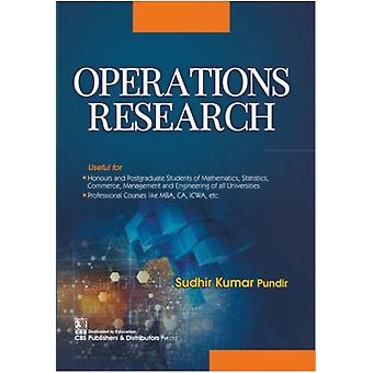 Operations Research by Pundir & Sudhir Kumar