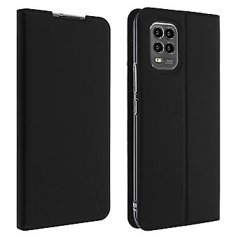 Case for Xiaomi Mi 10 Lite with Card Holder Akashi Video Function - Black