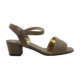 David Tate Womens Allana Fabric Open Toe Special Occasion Slingback Sandals
