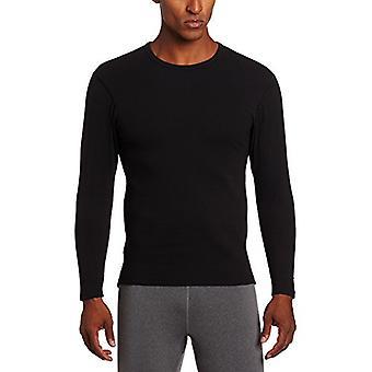 Duofold Men's Heavy Weight Double Layer Thermal Shirt, Zwart, Groot