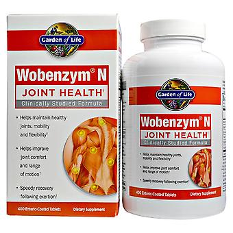 Wobenzym N, Joint Health, 400 Enteric-Coated Tablets