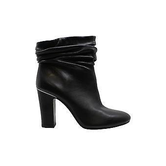 DKNY mujeres sabel cuero redondo dedo del dedo del dedo del dedo tobillo botas de moda