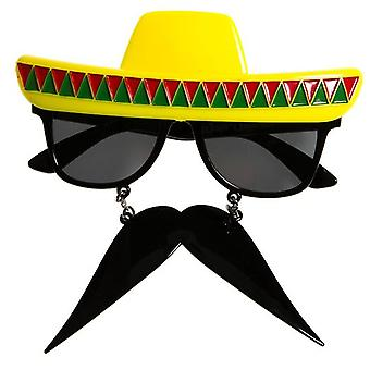 Party Costumes - Sun-Staches - Fiesta Mexico Toys Sunglasses SG1463